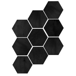 Drewniane panele 3D -...