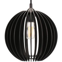 RIZAR czarna - Lampa drewniana